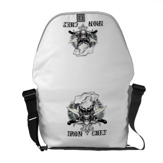 Chef Skull 1 Commuter Bags