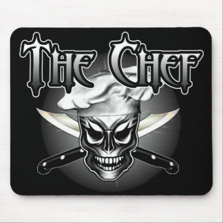 Chef Skull 1 Mouse Pad