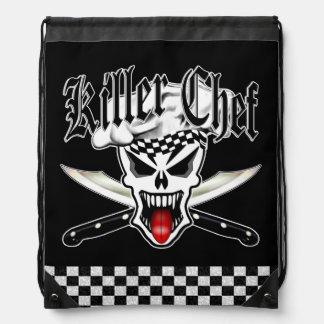 Chef Skull 2.1 Cinch Bag