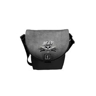 Chef Skull 2 Courier Bag