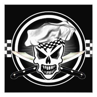Chef Skull 2 Photo Print