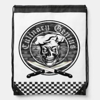 Chef Skull 3.1: Culinary Genius Cinch Bags
