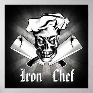 Chef Skull 3.1: Iron Chef Poster