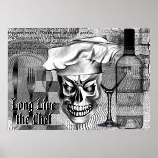 Chef Skull 3.1 Poster