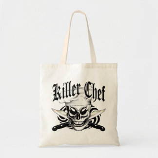 Chef Skull 4 Budget Tote Bag