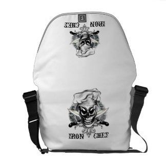 Chef Skull 4: Iron Chef Courier Bags