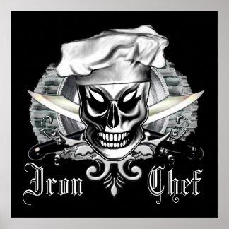 Chef Skull 4: Iron Chef Poster