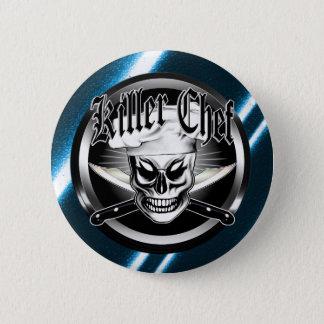 Chef Skull 4: Killer Chef 6 Cm Round Badge