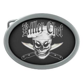 Chef Skull 4: Killer Chef Belt Buckle