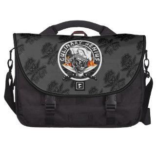 Chef Skull 5 Laptop Messenger Bag