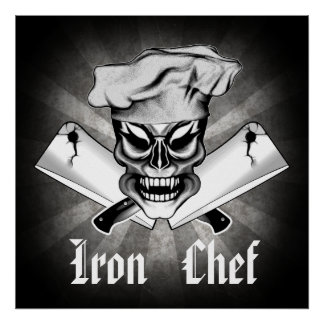 Chef Skull 9: Iron Chef Poster