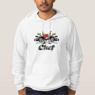 Chef Skull and Cooking Utensils Hoody
