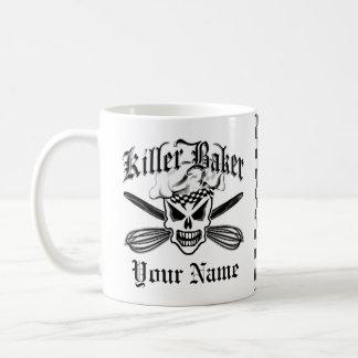 Chef Skull and Crossed Whisks 2: Killer Baker Coffee Mug