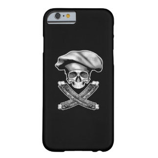 Chef Skull and Ribs Barely There iPhone 6 Case