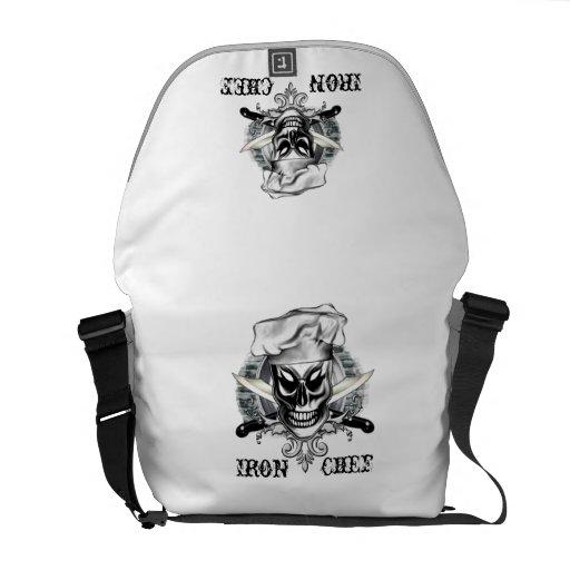 Chef Skull Messenger Bag: Iron Chef