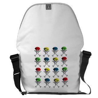 Chef Skull Pattern Courier Bag