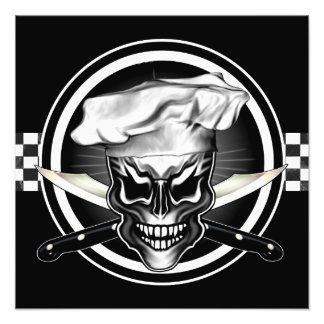 Chef Skull Photo Print