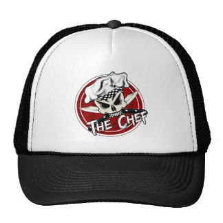 Chef Skull with Crossed Knives The Chef Trucker Hat