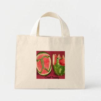 Chef Teddy Mini Tote Bag