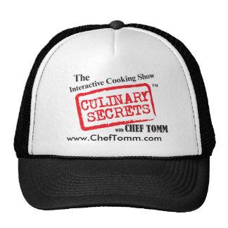 Chef Tomm Baseball cap