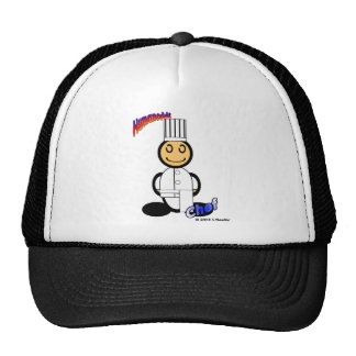 Chef (with logos) mesh hat