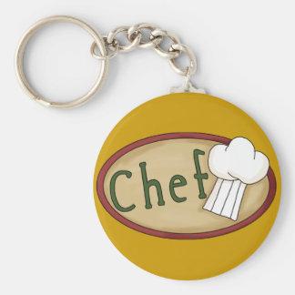 chef_word_art basic round button key ring