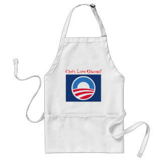 Chefs Love Obama! Standard Apron