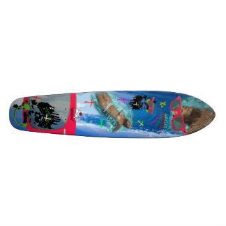 ChelsBoard 18.1 Cm Old School Skateboard Deck