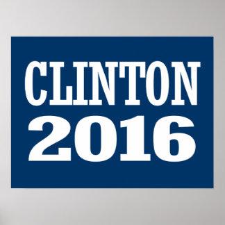 CHELSEA CLINTON 2016 POSTER