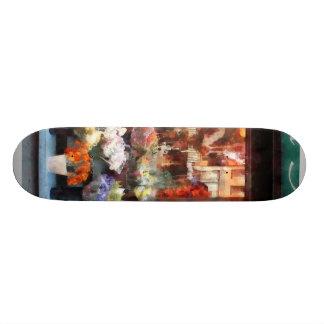 Chelsea Flower Shop Custom Skate Board