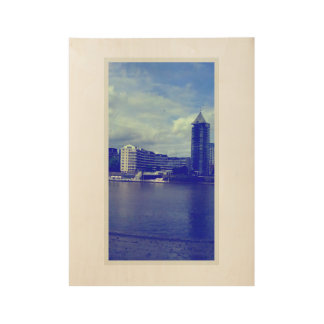 Chelsea Harbour Wood Poster
