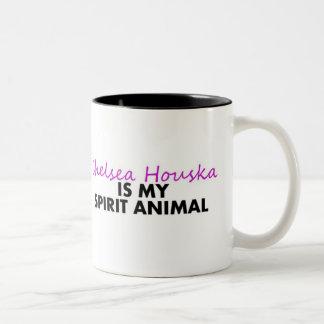 Chelsea is my Spirit Animal Two-Tone Coffee Mug