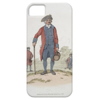 Chelsea Pensioner, from 'Costume of Great Britain' iPhone 5 Cover
