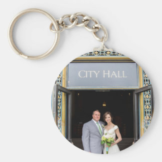 Chelsea & Richard's Wedding Keychain