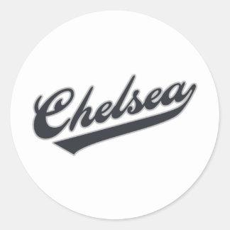 Chelsea Round Sticker