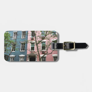 Chelsea Townhouses, NYC Luggage Tag