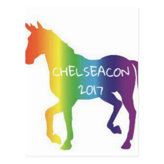 CHELSEACON 2017 POSTCARD