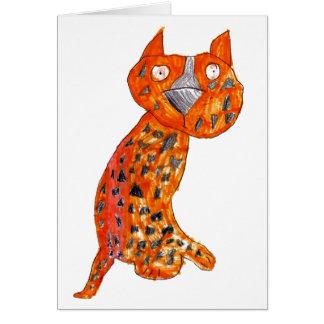 Chelsy Cheetah • Carly Bowerman, Age 6  - card