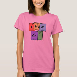 Chem Gal Periodic Table T-shirt