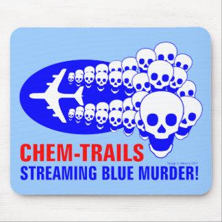 Chem Trails Mouse Pad