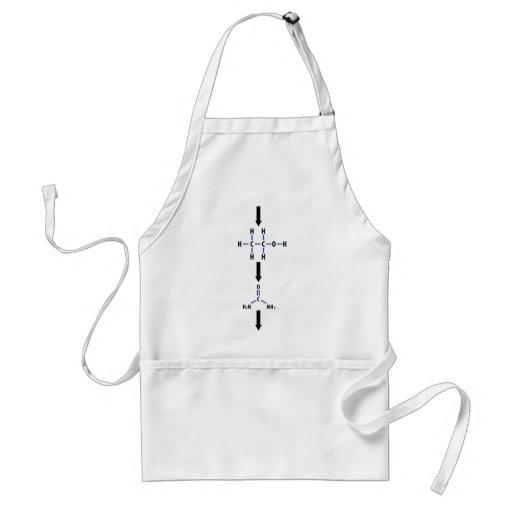 chemical alcohol to urea icon apron