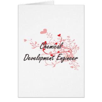 Chemical Development Engineer Artistic Job Design Greeting Card