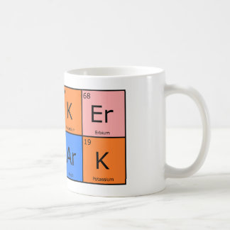 Chemical Elements Poker Shark Mug