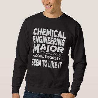 Chemical Engineering College Major Cool People Sweatshirt