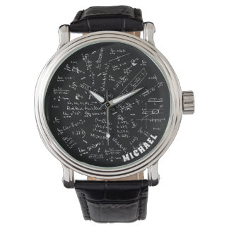 Chemical Formula Chemistry Gifts Personalized Watch