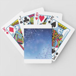 chemical pattern bicycle playing cards