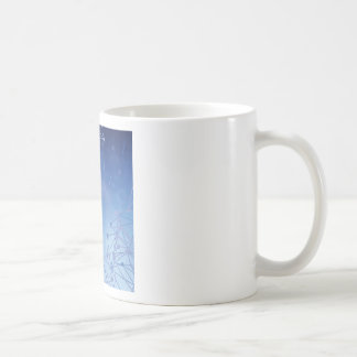 chemical pattern coffee mug
