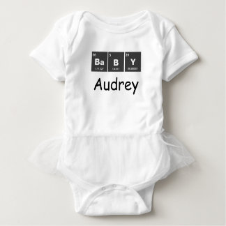 Chemical periodic table of elements: BaBY Baby Bodysuit