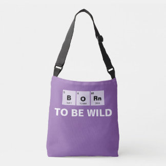 Chemical periodic table of elements: BORn Tote Bag