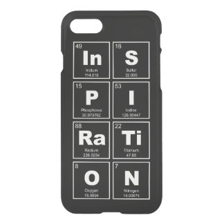 Chemical periodic table of elements: InSPIRaTiON iPhone 7 Case